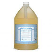 Dr. Bronner's, 溫和嬰兒潔顏液 - 1加侖