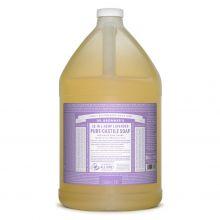 Dr. Bronner's, 薰衣草潔顏液 - 1加侖