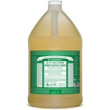 Dr. Bronner's, 杏仁潔顏液 - 1加侖