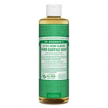 Dr. Bronner's, Almond Liquid Soap - 16 oz.