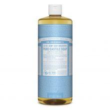 Dr. Bronner's, 溫和嬰兒潔顏液 -  32 oz.