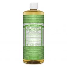 Dr. Bronner's, 綠茶潔顏液 - 32 oz.