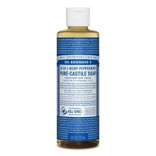 Dr. Bronner's, Peppermint Liquid Soap - 8 oz.