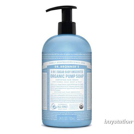 Dr. Bronner's, 有機溫和BB洗手皂液 -  24 oz.
