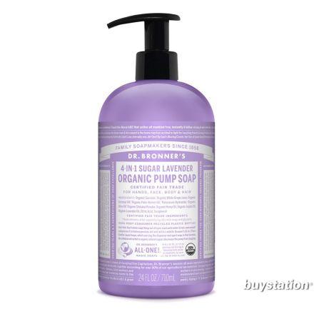 Dr. Bronner's, 有機薰衣草洗手皂液 -  24 oz.