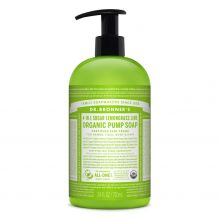 Dr. Bronner's, Organic Shikakai Lemongrass Lime Pump Soap - 24 oz.
