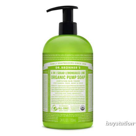 Dr. Bronner's, 有機青檸洗手皂液 -  24 oz.