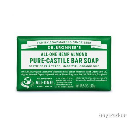 Dr. Bronner's, 杏仁潔顏皂, 5 oz (140 g)