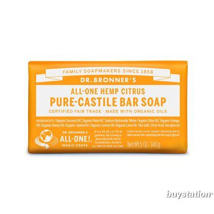 Dr. Bronner's, 柑橘潔顏皂, 5 oz (140 g)