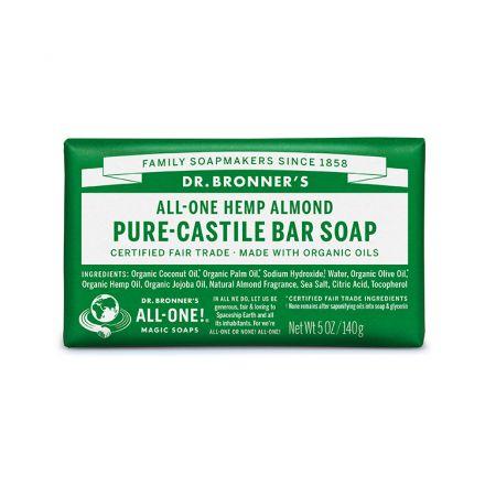 Dr. Bronner's, 杏仁潔顏皂, 5 oz. (140 g)