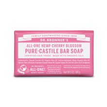 Dr. Bronner's, Cherry Blossom Bar Soap, 5 oz (140 g)