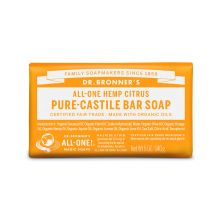 Dr. Bronner's, Citrus Orange Bar Soap, 5 oz (140 g)