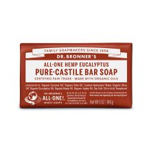 Dr. Bronner's, Eucalyptus Bar Soap, 5 oz (140 g)