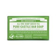 Dr. Bronner's, Green Tea Bar Soap, 5 oz (140 g)