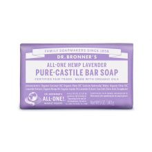 Dr. Bronner's, Lavender Bar Soap, 5 oz (140 g)