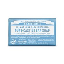 Dr. Bronner's, 溫和嬰兒潔顏皂, 5 oz (140 g)