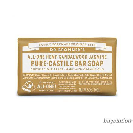 Dr. Bronner's, 檀香茉莉潔顏皂, 5 oz (140 g)