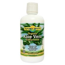 Dynamic Health, Organic Aloe Vera Juice, Unflavored, 946ml