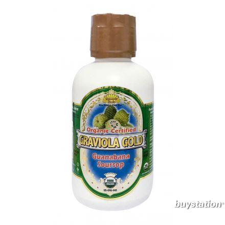 Dynamic Health  有機刺果番荔枝汁 (紅毛榴槤) 16oz (473ml)