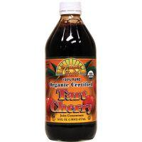 Dynamic Health, 有機酸櫻桃濃縮汁 16 fl oz (473 ml) - 玻璃瓶