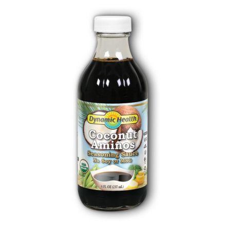 Dynamic Health Organic Coconut Aminos, 8 fl oz (237 ml)