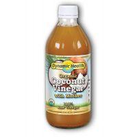 Dynamic Health, 有機椰子醋, 16 fl oz (473 ml)