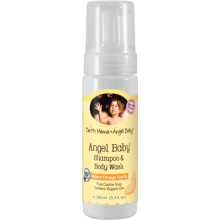 Earth Mama 地球媽媽 嬰兒洗髮沐浴露 160 ml (5.3 oz) - 雲呢拿香橙味