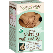 Earth Mama Organic Morning Wellness Tea - 16 bags