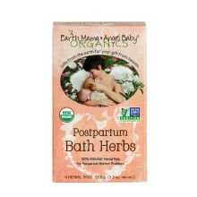 Earth Mama Organic Postpartum Bath Herbs - 6 Herbal Pads