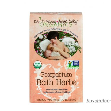 Earth Mama 地球媽媽 有機產後草藥敷墊  - 6片墊