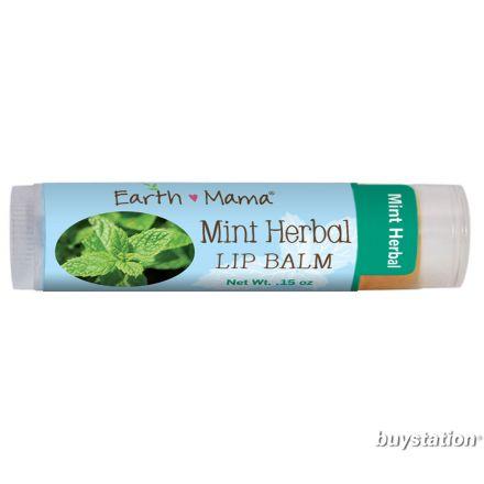 Earth Mama 有機潤唇膏 (薄荷), 4 ml