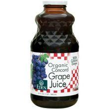 Eden Foods, Organic Concord Grape Juice, 946 ml