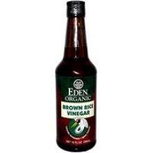 Eden Foods, 有機糙米醋, 10 fl oz (296 ml)