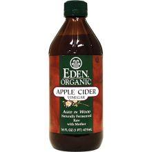 Eden Foods, 有機蘋果醋, 16 fl oz (473 ml)