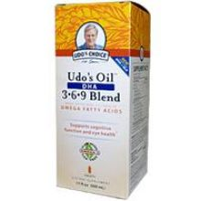 Flora, Udo's Oil™ 369 DHA Blend 500 ml