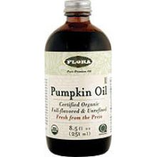 Flora, Certified Organic Pumpkin Oil, 8.5 fl oz (250 ml)