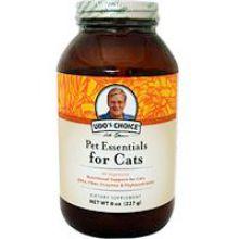 Flora, Udo's Choice, Pet Essentials for Cats, 8 oz (227 g)