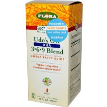 Flora, Udo's Oil™ 369 DHA Blend 250 ml