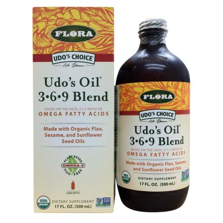 Flora, Udo 精選369 配方油 500 ml
