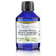 Florihana, Organic Sweet Almond Oil, 1000ml