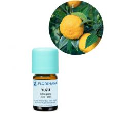 Florihana, Yuzu Essential Oil, 5g