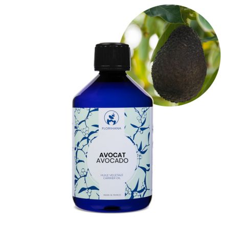 Florihana, Organic Avocado Oil, 500ml