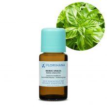 Florihana, Organic Basil Linalol Essential Oil, 15g
