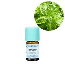 Florihana, Organic Basil Linalol Essential Oil, 5g