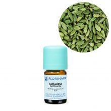Florihana, Organic Cardamom Essential Oil, 5g