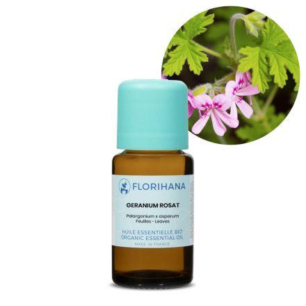 Florihana, 有機玫瑰天竺葵精油 15g