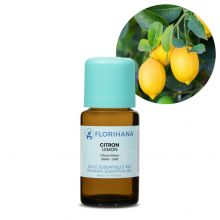 Florihana, Organic Lemon Essential Oil, 15g
