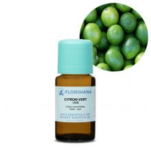 Florihana, Organic Lime Essential Oil, 15g