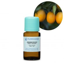 Florihana, Organic Orange Sweet Essential Oil, 15g
