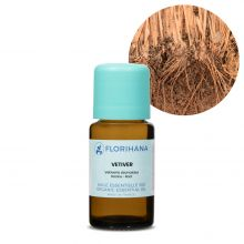 Florihana, Organic Vetiver Essential Oil, 15g